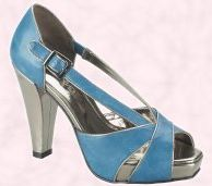 Shoe 21 - River Island True Blue Range - River Island Spring Summer Accessories 2008
